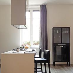 Tenda per cucina moderna