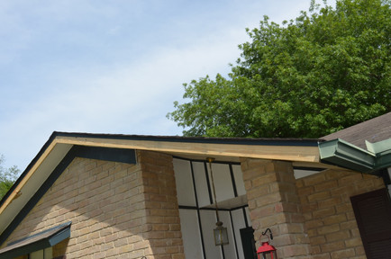 New Roof Fascia After