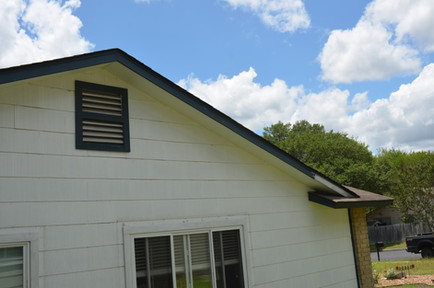 Old Roof Fascia Before