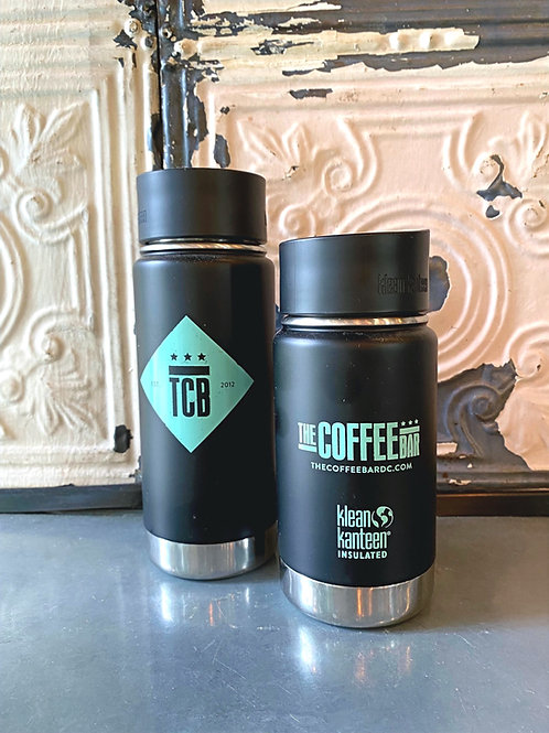 12oz Klean Kanteen in Black
