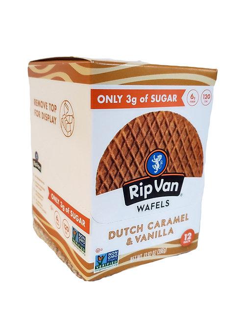 Rip Van Wafels - Dutch Caramel & Vanilla 12 pack