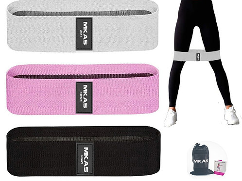 Fabric Resistance Booty Bands Set