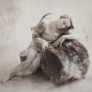Abandoned Silver Gilt Print