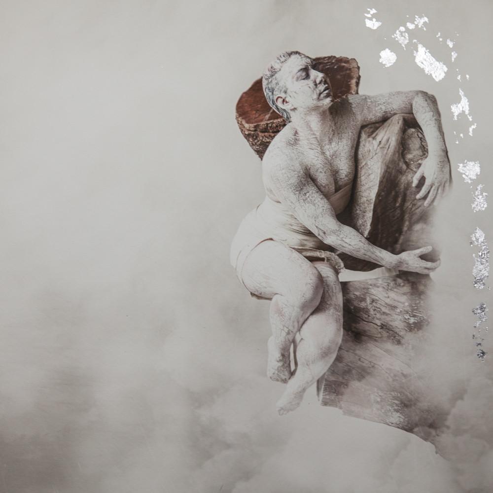 Lost and Alone  Silver Gilt Print