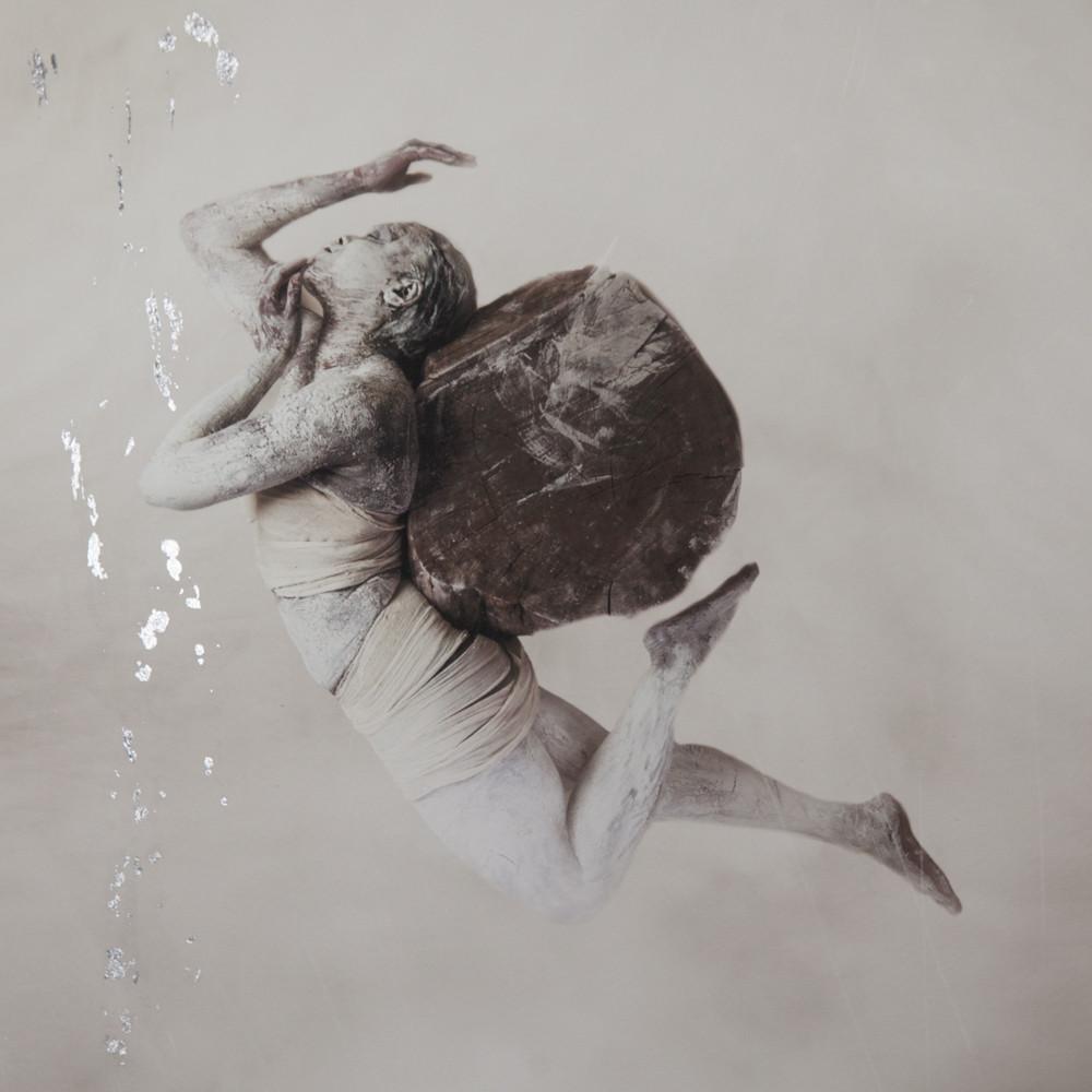 Abused Silver Gilt Print