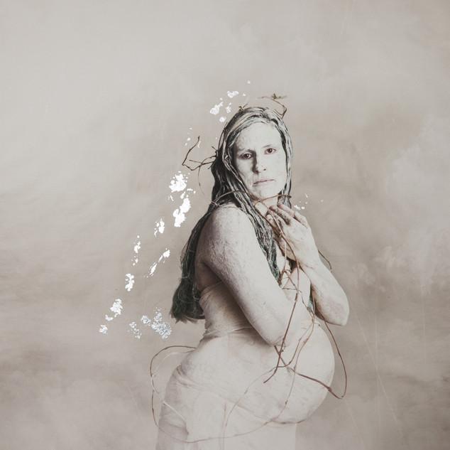 Mother No More  Silver Gilt Print