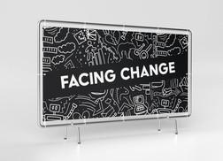 facing change banner