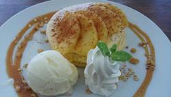 アップルシナモンパンケーキ