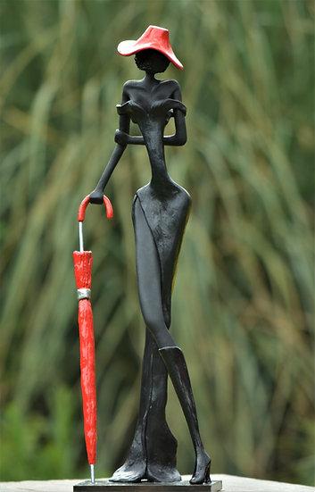 Jehan Versluys - Coquine au parapluie