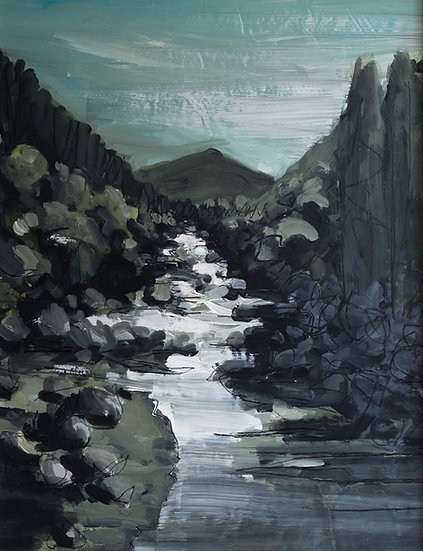 Jean-Marie Isnard - Pénombre sur la rivière