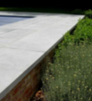 Terrasse en Pierre Bleue du Bocq