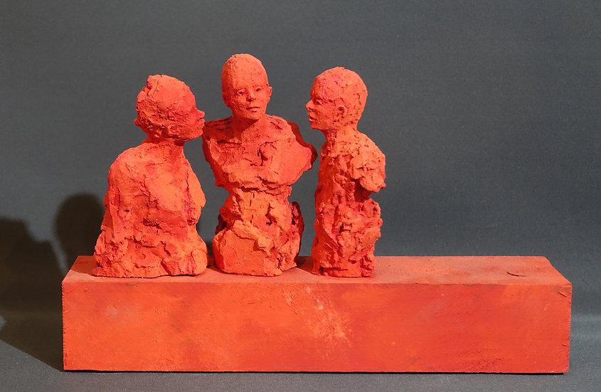 Sandrine Bouleau - Conversation rouge