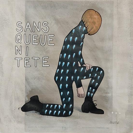 """Miss6 - Nécessaire """"Sans queue ni tête"""""""