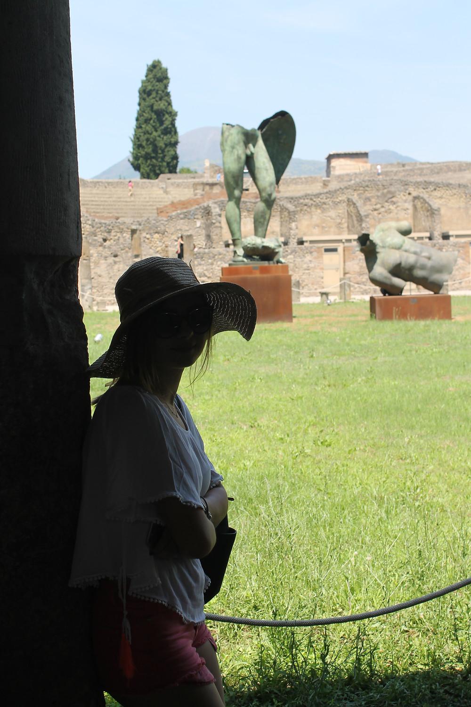 pompei david heykeli