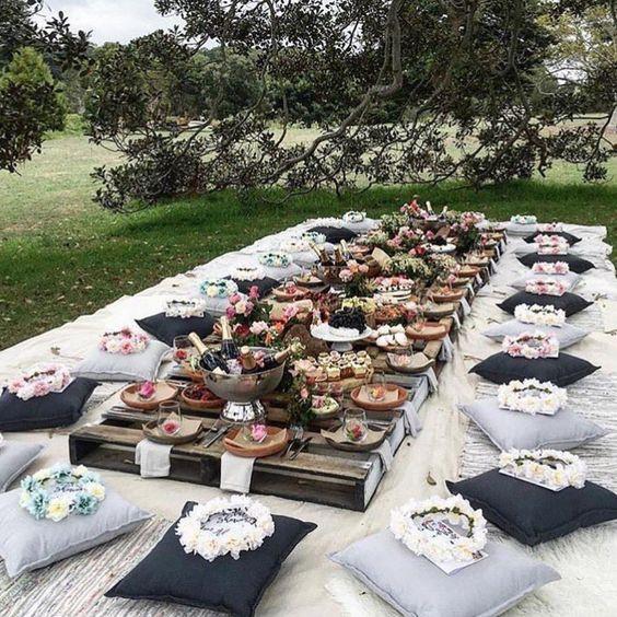 bachelorette picnic bekarlığa veda