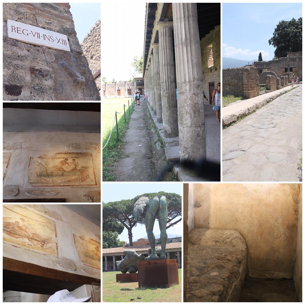 pompei antik kalıntılar