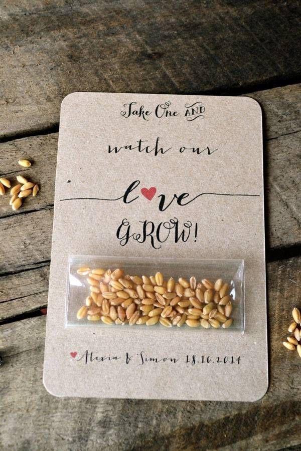 düğün hediyelik tohum