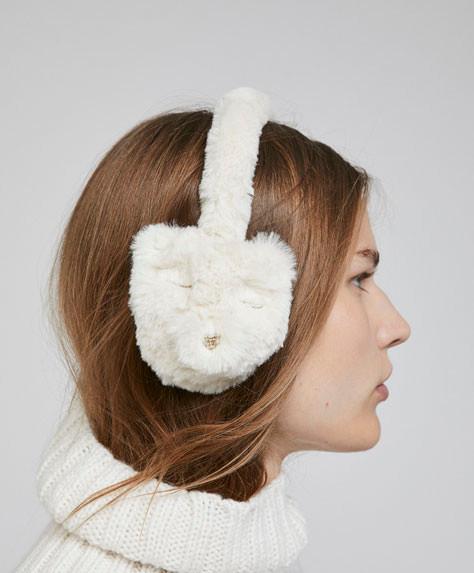 peluş kulaklık