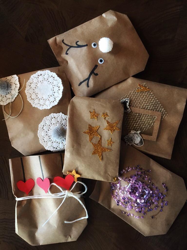 hediye paketleme gift wrapping diy kendin yap