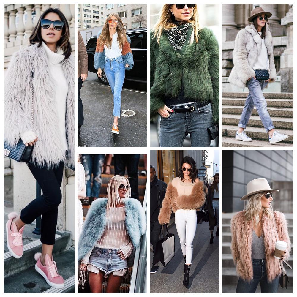 Fur Coat Peluş Ceket Kürk