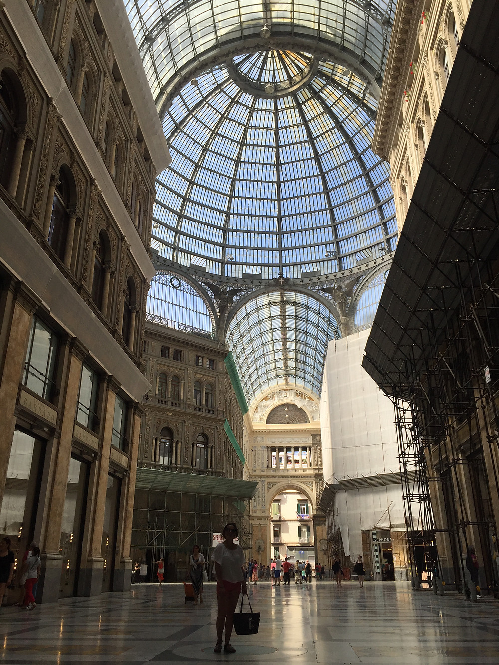 Napoli Galleria Umberto 1