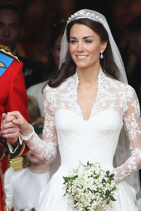 kate middleton gelinlik