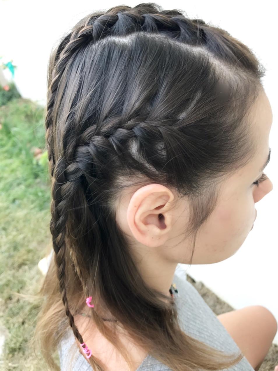 balık sırtı saç örgüsü