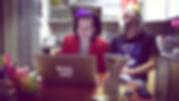 Natalia Monakhova & Andrey Slaschilin / Нталия Монахова & Андрей Слащилин – curators of the Bad Video Art Festival / кураторы Фестиваля плохого видеоарта