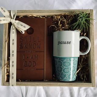 Pause and Be Still - $40