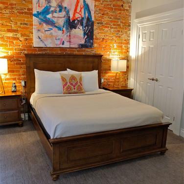 Plums 1 Queen bed