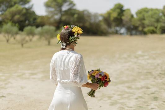 mariée délice floral
