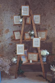 plan de table délice floral