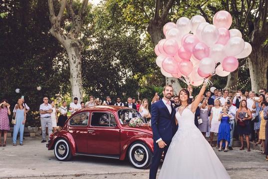 couple marié délice floral