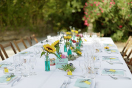 déco table délice floral