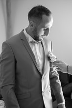 boutonnière marié délice floral