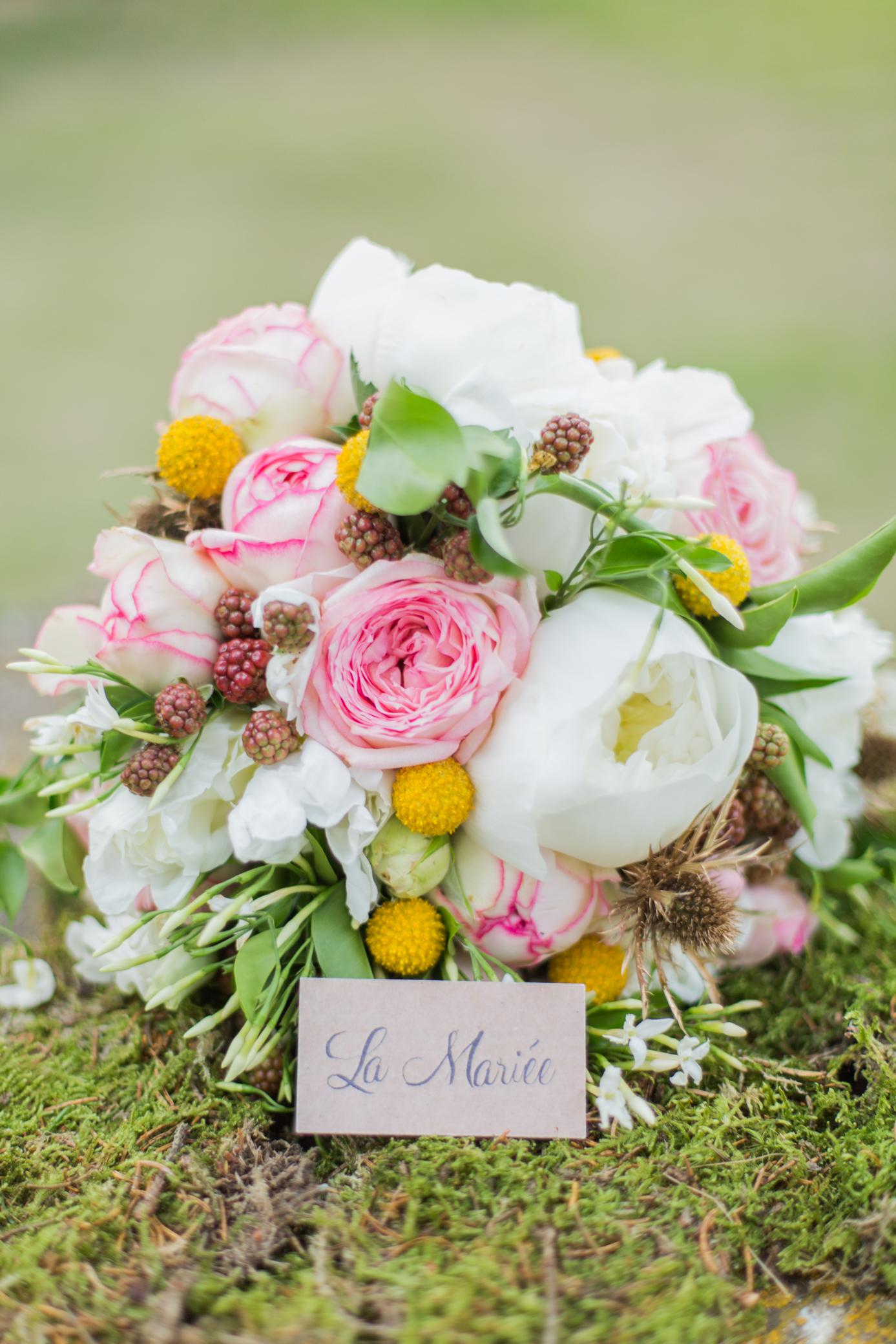Bouquet de mariée - délice floral