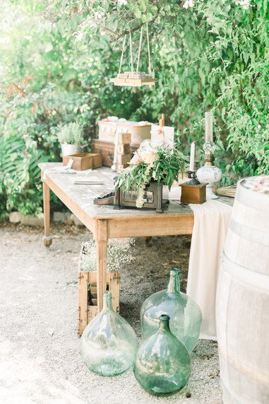 table livre d'or fleurie