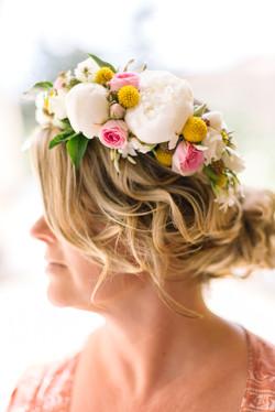 couronne de fleurs délice floral