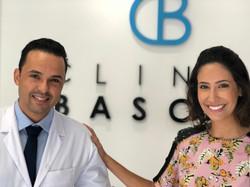 Con mi colaborador Dr.Luciano Bascoy