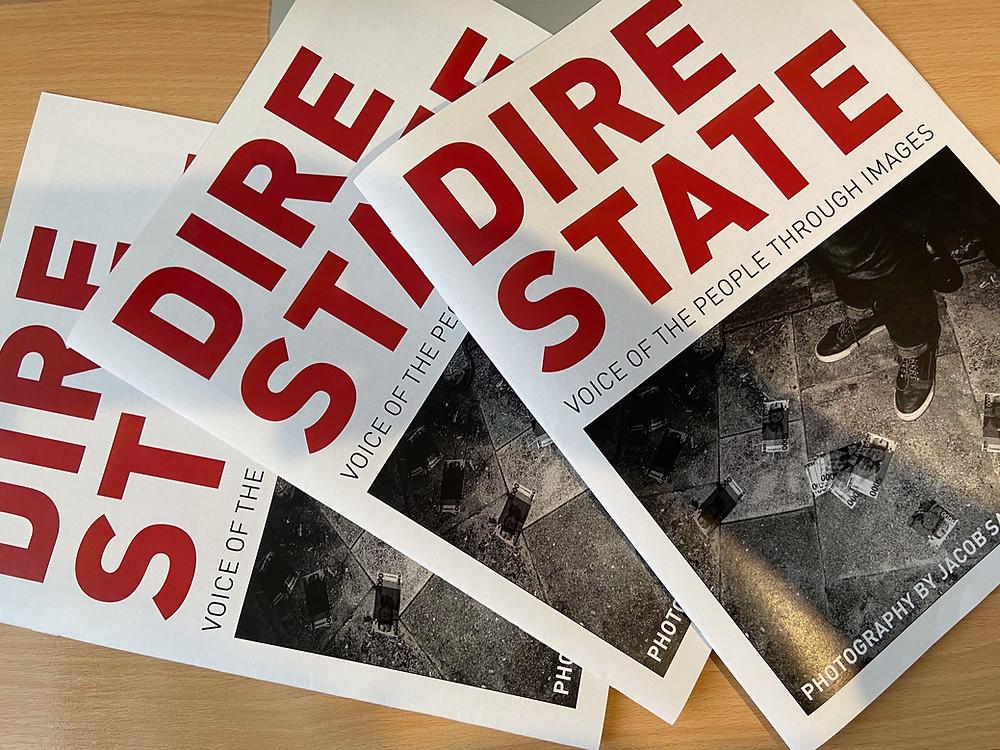 Jacob Sammut's Dire State Newspaper Publication
