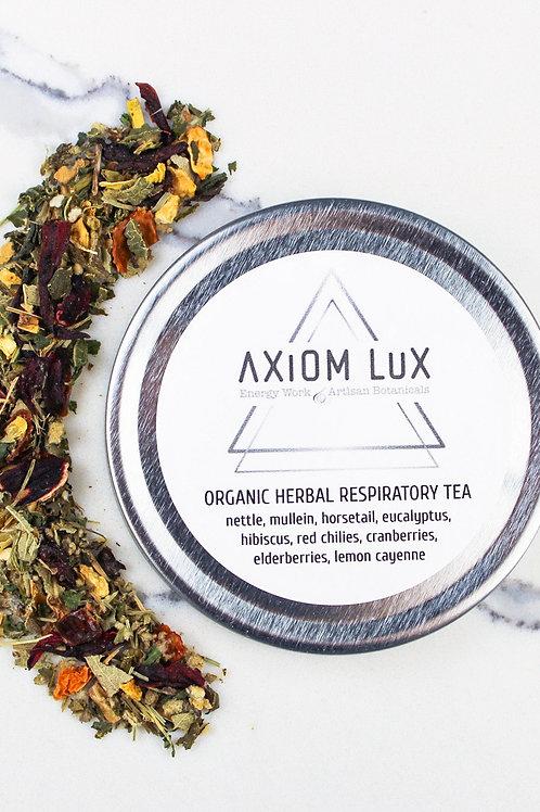 Organic Herbal Respiratory Tea