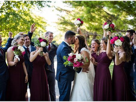 Midlane Country Club Wedding // Megan + Dan