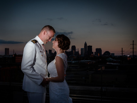 Cleveland Wedding // Erika and Kevin: An Adventurous Couple Tie the Knot