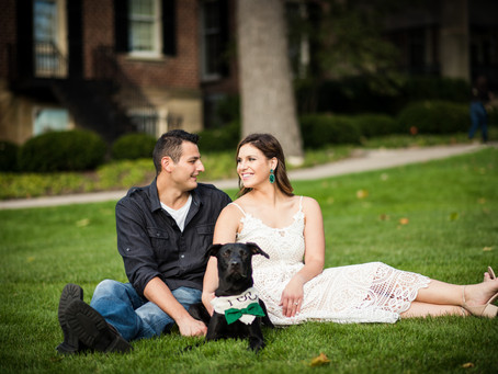 Cantigny Park Engagement // Allison & Steve