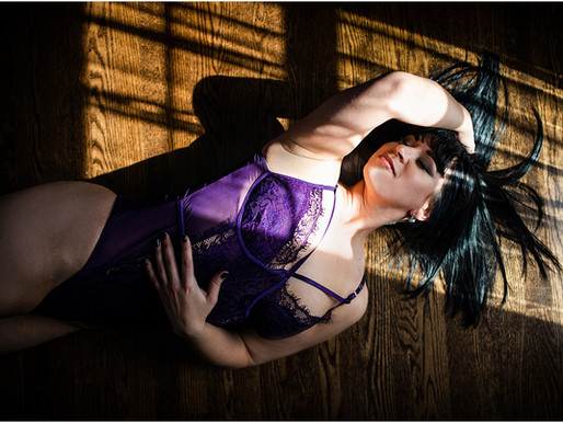 Downers Grove Boudoir Photographer // You'd be so much prettier if you lost some weight