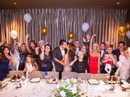 Mastros Engagement Celebration
