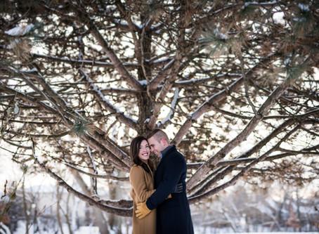 Naperville Riverwalk // Kathryn + Grant's Engagement