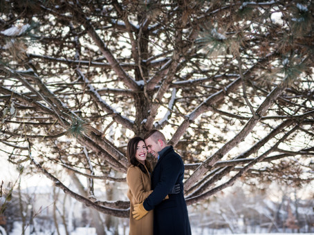 Naperville Riverwalk // Kathryn + Grant's Engagement