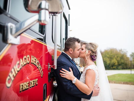 Tinley Park Wedding - 350 Brewing // Kelly + David