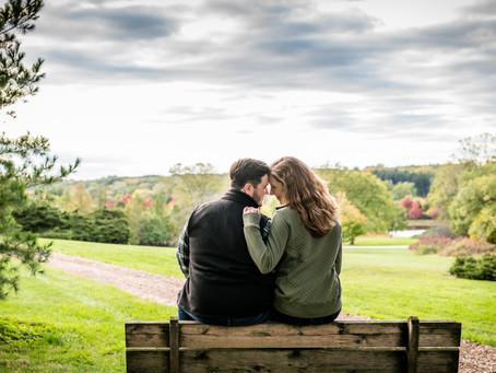 Morton Arboretum Engagement // Laura & Jon